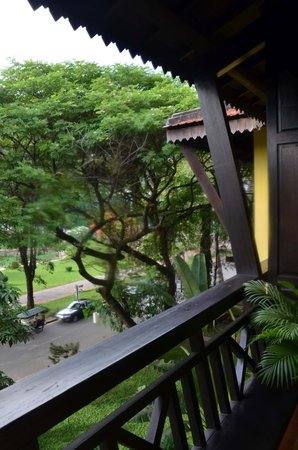 Victoria Angkor Resort & Spa: Room balcony view