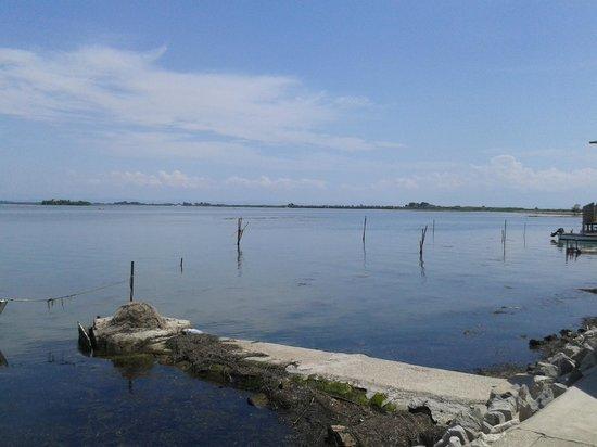 Ai Ciodi : Il panorama della laguna