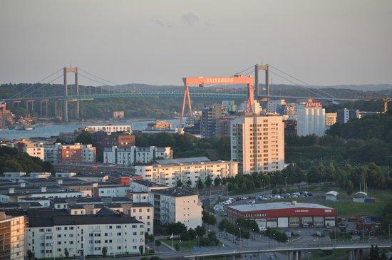 Keillers Park: Utsikt mot hamninloppet