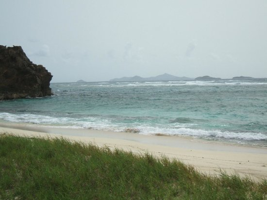 Palm Island Resort & Spa: View from the island