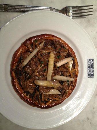 Le Cafe Anglais: Woodland mushroom tart