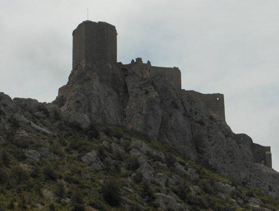 Chateau de Queribus: comme dans certains films, il est là, ça nous prend aux tripes, il nous appelle