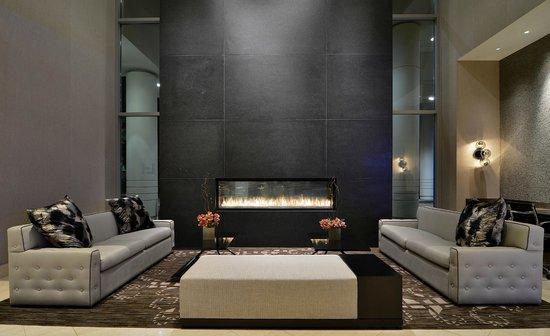 Lobby Fireplace - Picture of Loews Vanderbilt Hotel, Nashville ...