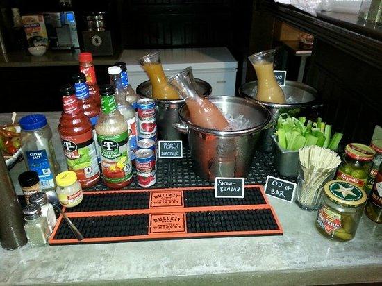 Loophole Gastropub & Ale House: $3 Bloody Mary & Mimosa bar Sunday's