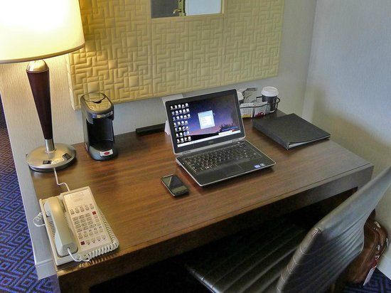 Hyatt Regency Lisle near Naperville: Work desk