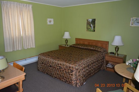 The Village Motel: Queen bed