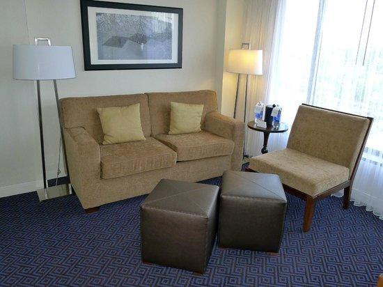 Hyatt Regency Lisle near Naperville: Sitting area