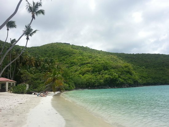 Cruz Bay, St. John: Maho Bay beach, nice, gentle, beautiful