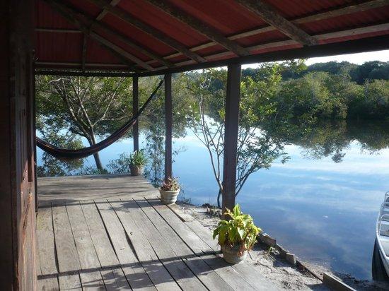 Malocas Jungle Lodge: notre chambre à gauche