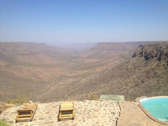 Grootberg Lodge: The View