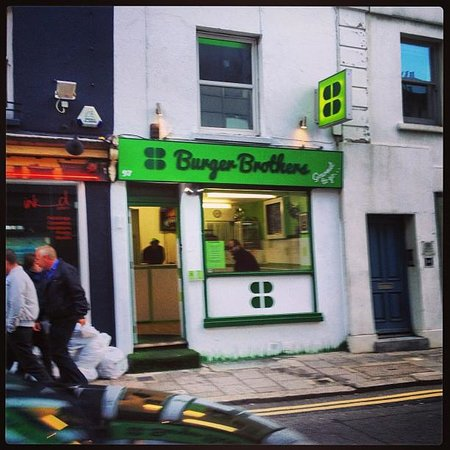 Burger Brothers : Keep your Eye out for it.... Lime Fresh Green