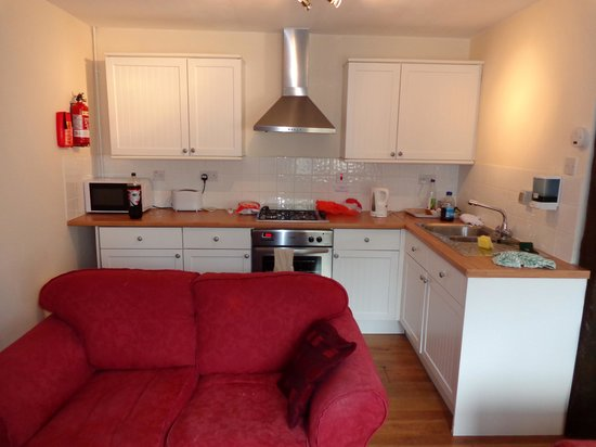 Tregoad Park: Nice servicable Kitchen