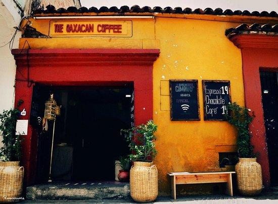 Oaxacan coffee: Facade