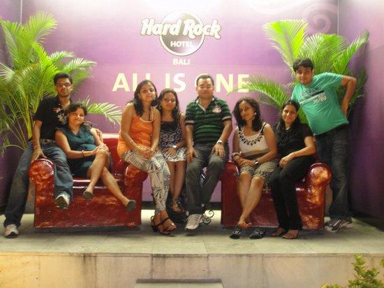 Hard Rock Hotel Bali: The Gang
