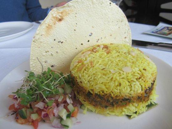Krishna: Hyderabadi biriyani looks like a burger, hee hee!