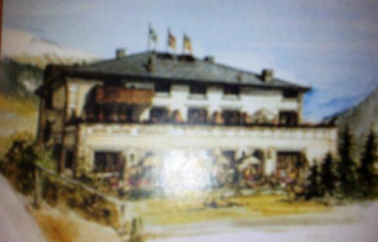 Restaurant im Hotel Saluver: Il bellissimo biglietto ricordo
