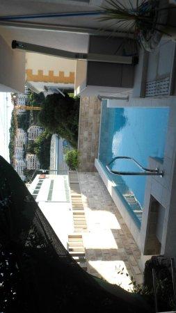 Apartments Aura: Pool area