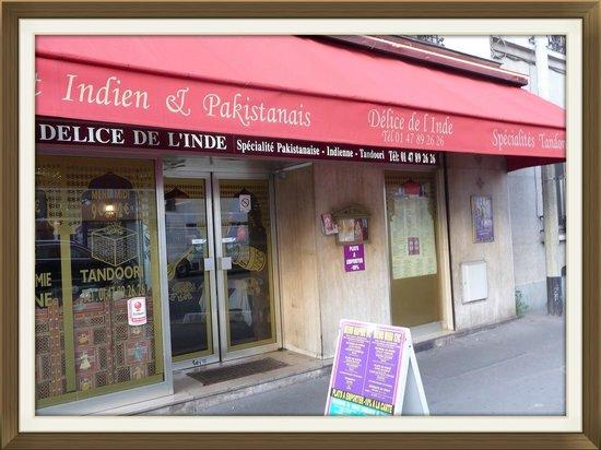 Delights of India: Le restaurant indien situé le long du boulevard.