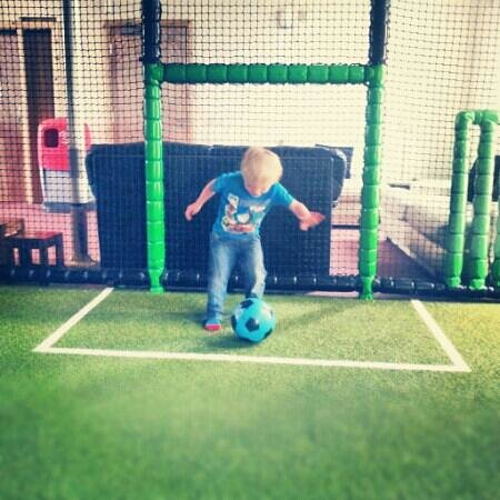 Bonkerz Fun Centre: Bonkerz football pitch