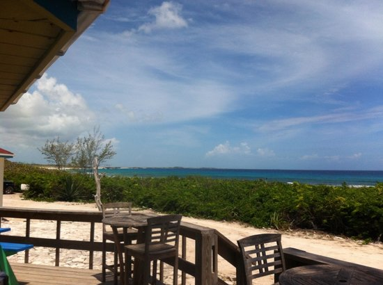 Daniel's Cafe by the Sea: Check out the view!