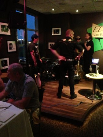 The Edge Wine Bar and Grille: The Fire Cats