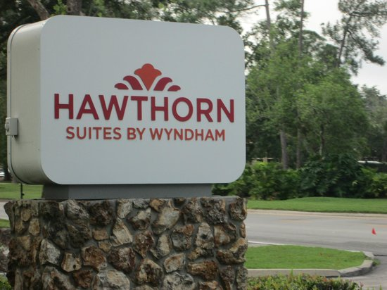 Hawthorn Suites by Wyndham Orlando Convention Center: Hotel sign