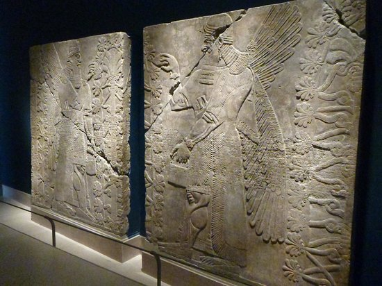 Brooklyn Museum: Assyrian reliefs from Nimrud