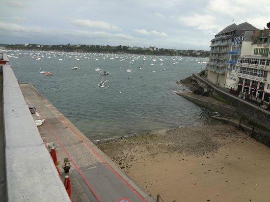 Hotel De La Vallee : Vue sur mer....