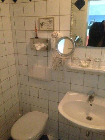 Landgasthof Deutsche Eiche: Badezimmer