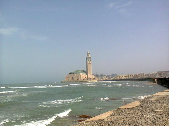 Tours Of Peace & Morocco Holidays - Day Tours: Hassan II Mosque built on sea side