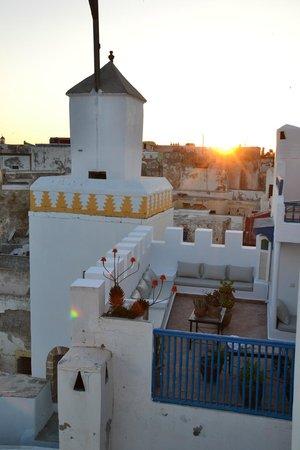 Riad Lalla Mogador: Terrase