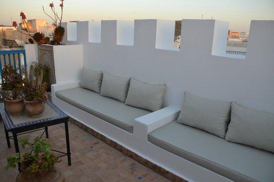 Riad Lalla Mogador: Terrasse