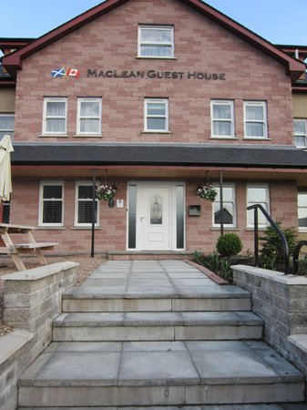MacLean Guest House : The front of the Guest House