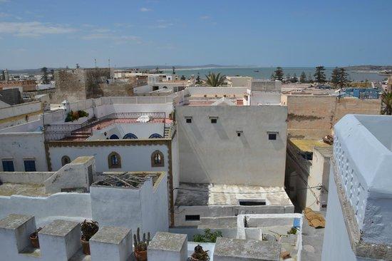 Riad Lalla Mogador: Vue de la terrasse