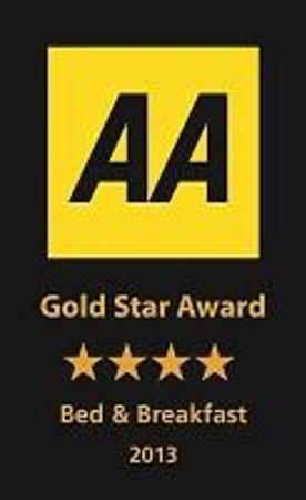 Meadowcroft Bed and Breakfast: AA rated 4 star gold 2013