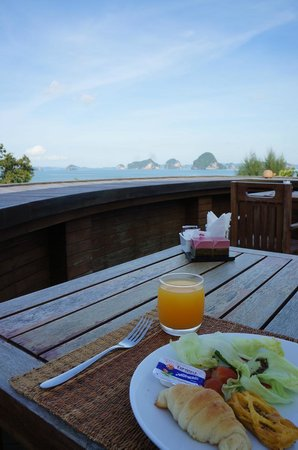 Anyavee Tubkaek Beach Resort: 朝食
