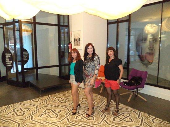 Foto de hotel one shot prado 23 madrid en la recepcion - One shot hotels madrid ...
