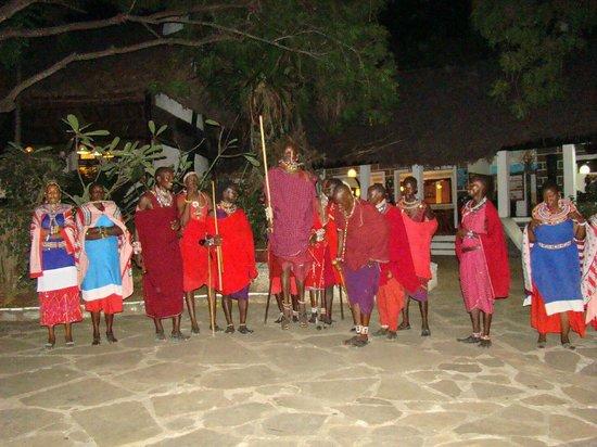 Baobab Sea Lodge: masajowie