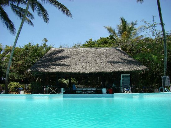 Baobab Sea Lodge: poolbar