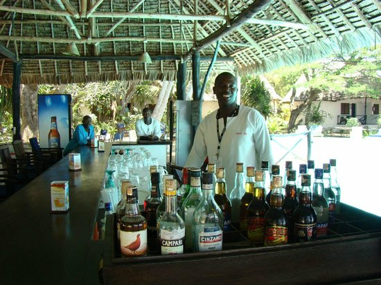 Baobab Sea Lodge : barman