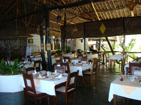 Baobab Sea Lodge : restauracja