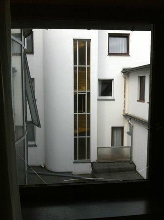 Tagungshotel Hoechster Hof: vue de la chambre