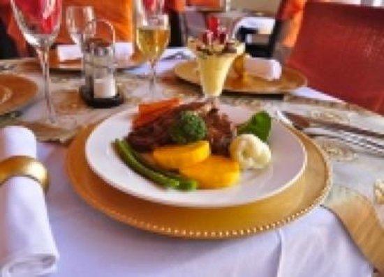 Zanami Lodge: Dinner at Zanami