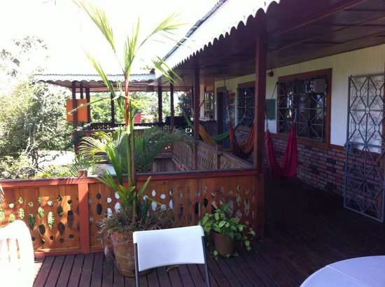 Spanish by the River - Turrialba: Balcony - Hostel