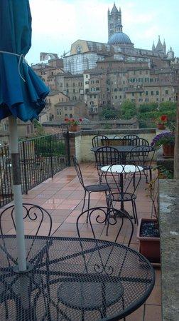 Albergo Bernini: View from the patio