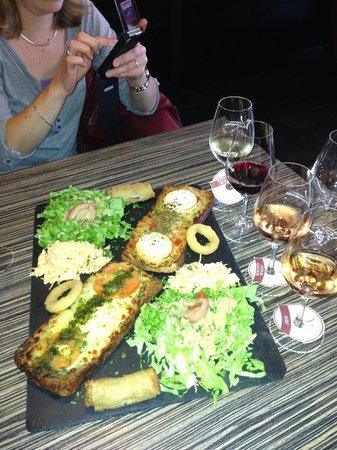 Vinomania: une assiette alléchante