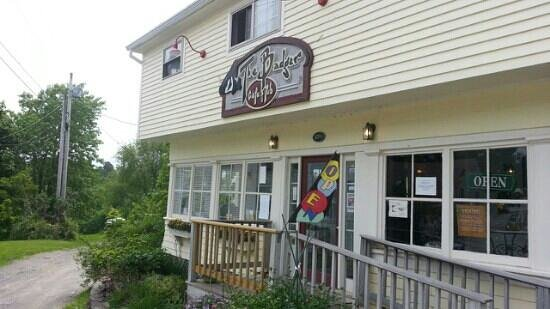 Badger Cafe: main entrance to The Badger