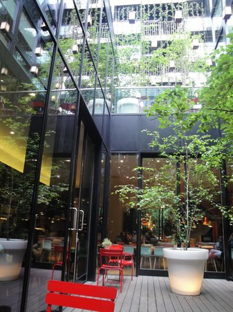 citizenM London Bankside: giardino