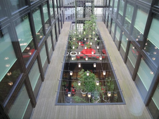 citizenM London Bankside: giardino interno