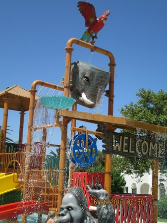 Maleme, Greece: Childrens fun pool
